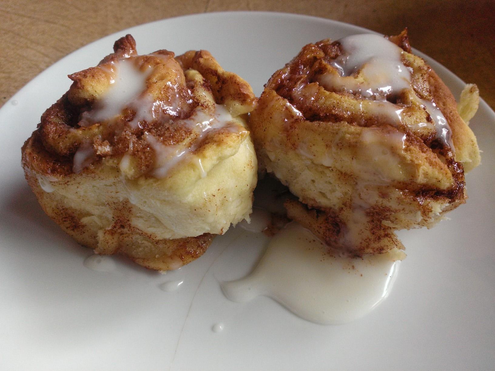 hour Cinnamon Rolls – Gluten-Free, Dairy Free